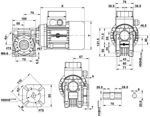 motor-reduktor-nmrv-040