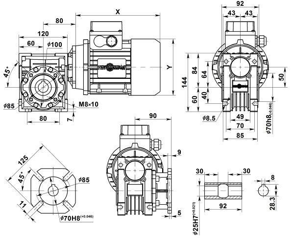 motor-reduktor-nmrv-050
