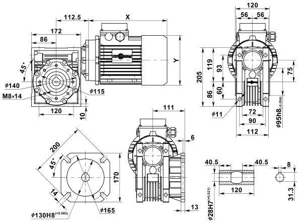 motor-reduktor-nmrv-075