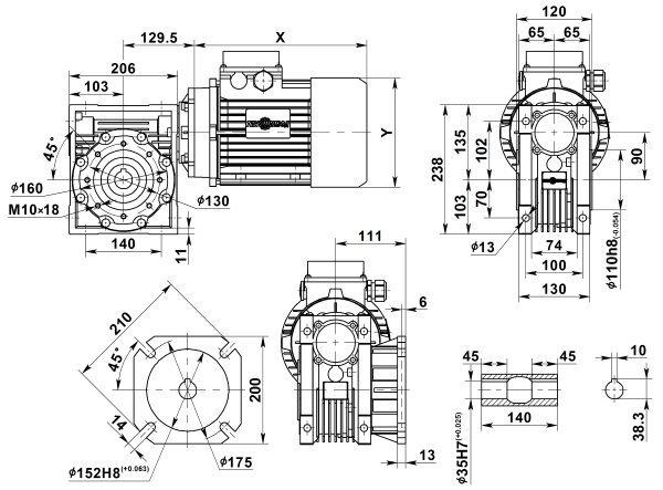 motor-reduktor-nmrv-090