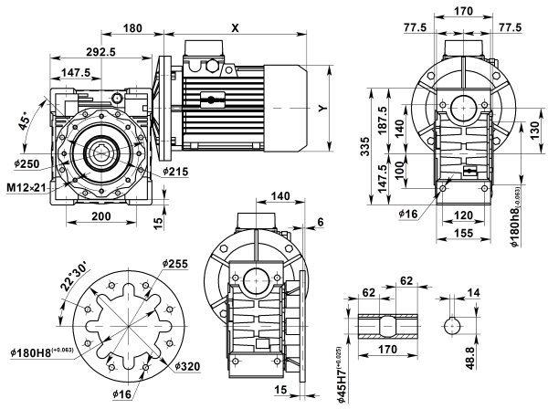 motor-reduktor-nmrv-130