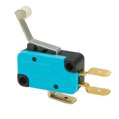 EMAS MK1MIP3 Микро-выключатель с пластмассовым роликом и изогнутым рычажком