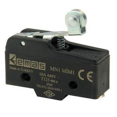 EMAS MN1MIM1 Мини-выключатель с стальным роликом на коротком рычажке