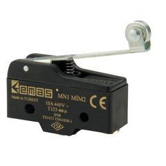 EMAS MN1MIM2 Мини-выключатель с стальным роликом на длинном рычажке