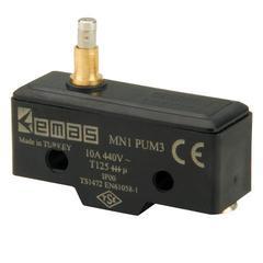 EMAS MN1PUM3 Мини-выключатель с подпружининым плунжером
