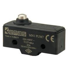 EMAS MN1PUM7 Мини-выключатель с коротким подпружининым плунжером