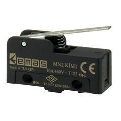EMAS MN2KIM1 Мини-выключатель с коротким рычажком