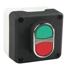 EMAS P1C3Y4K20 кнопочный пост управления с подсветкой светодиод-зеленый 100-250В